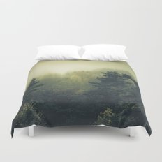 Forests never sleep Duvet Cover