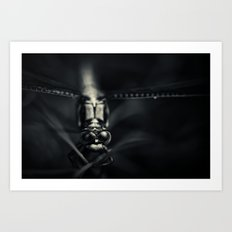 I can see you.... oh yes I can! Art Print