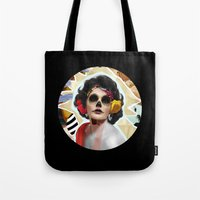 Golden Elizabeth Taylor … Tote Bag