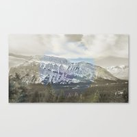 Tunnel Mountain Canvas Print