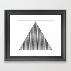 shape eye 1 Framed Art Print