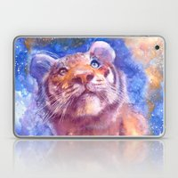Waiting for the stars (tiger, big cat, cat, kitty, kitten, gato, chat) Laptop & iPad Skin