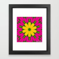 BUTTERCUP Framed Art Print