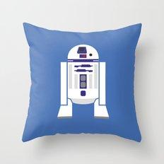 Star Wars Minimalism - R2D2 Throw Pillow