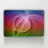 Laptop & iPad Skin featuring Colors In Motion by Gabiw Art