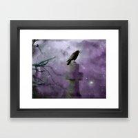 Gothic Mist Framed Art Print