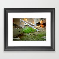 Re-growth Framed Art Print
