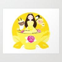Worldwide Endometriosis … Art Print