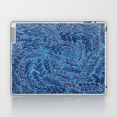 Blue Branches Laptop & iPad Skin