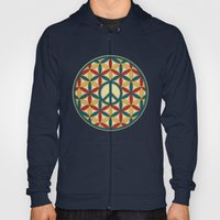 Peace Geometric Circles Hoody