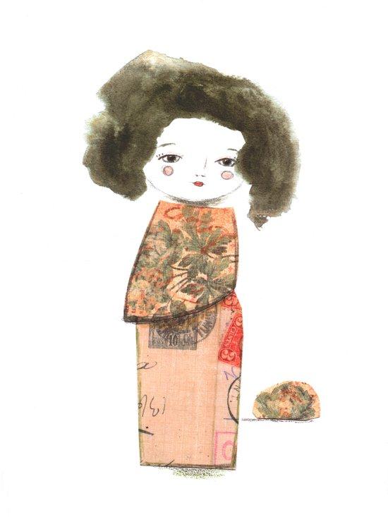 Oriental II Art Print