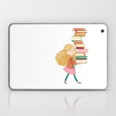 Library Girl 2 Laptop & iPad Skin