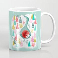 Winter's Fox by Andrea Lauren  Mug