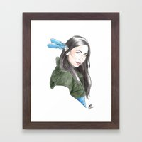 Vex'ahlia Framed Art Print