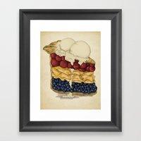 American Pie Framed Art Print