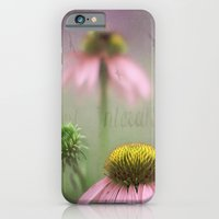 iPhone & iPod Case featuring Pink Coneflower by Angie Johnson