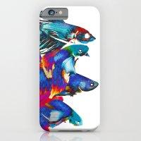 Fighting Fishes Betta Sp… iPhone 6 Slim Case
