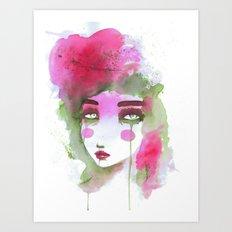 Watercolors Art Print