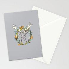 Deer Wreath Stationery Cards