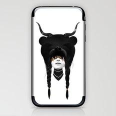 Bear Warrior iPhone & iPod Skin