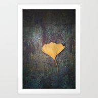 Ginkgo Leaf Art Print