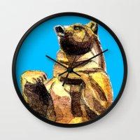 Central Park Bear Wall Clock