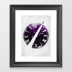 A Journey through Space and Time 2 Framed Art Print