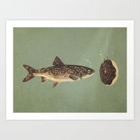 Irresistible Bait  Art Print