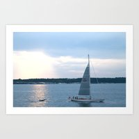 Narragansett Bay I Art Print