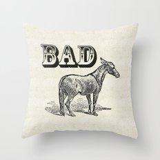 Bad Ass Throw Pillow