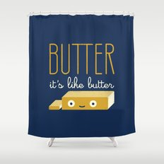 Spread the Word Shower Curtain