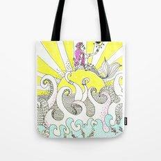 beach vibes Tote Bag
