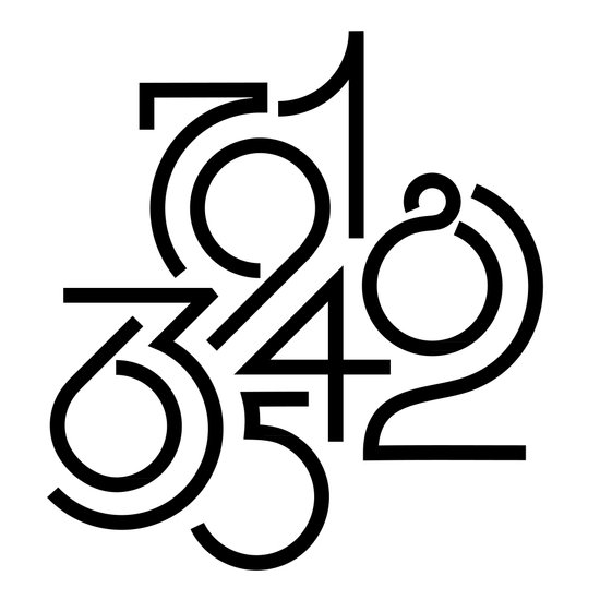 Numeric Canvas Print