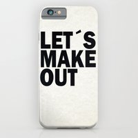 iPhone Cases featuring Let´s make out by Nicklas Gustafsson