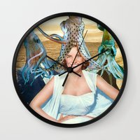 Squid School Wall Clock