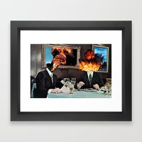 Every Act Of Creation Is… Framed Art Print