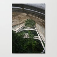 Canopy Green Canvas Print