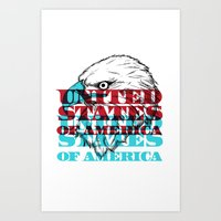 My United States Art Print