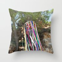 You are a rainbow Throw Pillow