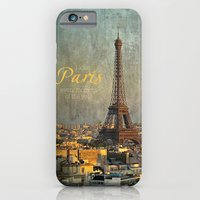 iPhone Cases featuring I love Paris by inourgardentoo