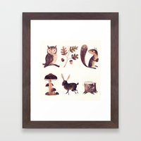 What You Might Find In T… Framed Art Print
