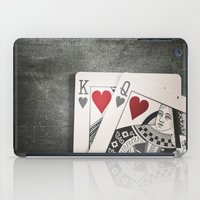 King And Queen Of Hearts iPad Case