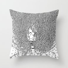The distance between me and you Throw Pillow