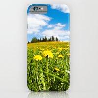 Dandelion field iPhone 6 Slim Case