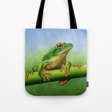 Moltrecht's Green Treefrog Tote Bag