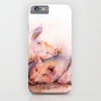 Pigs in clover iPhone 6 Slim Case