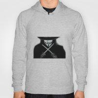 V for Vendetta  (by Esin )5 Hoody