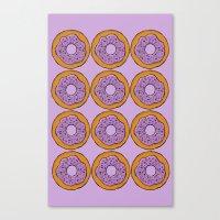 doughnut Canvas Print