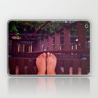 Because Stairs are Climbed one Step at a Time Laptop & iPad Skin