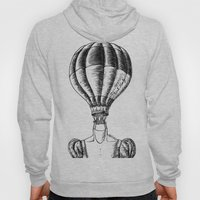 Think Freely in Contrast Hoody
